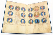 Genealogy of the d'Este Princes, Modena, Biblioteca Estense Universitaria, a.L.5.16 = Ital. 720 Rome, Biblioteca Nazionale Centrale, Fondo Vitt. Emanuele n. 293, cc. i-8-ii − Photo 10
