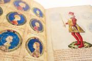 Genealogy of the d'Este Princes, Modena, Biblioteca Estense Universitaria, a.L.5.16 = Ital. 720 Rome, Biblioteca Nazionale Centrale, Fondo Vitt. Emanuele n. 293, cc. i-8-ii − Photo 11