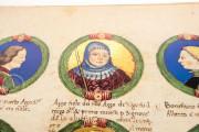 Genealogy of the d'Este Princes, Modena, Biblioteca Estense Universitaria, a.L.5.16 = Ital. 720 Rome, Biblioteca Nazionale Centrale, Fondo Vitt. Emanuele n. 293, cc. i-8-ii − Photo 13