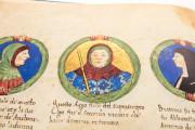 Genealogy of the d'Este Princes, Modena, Biblioteca Estense Universitaria, a.L.5.16 = Ital. 720 Rome, Biblioteca Nazionale Centrale, Fondo Vitt. Emanuele n. 293, cc. i-8-ii − Photo 16
