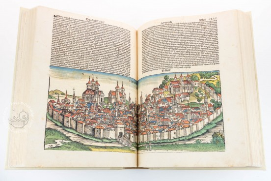 Weltchronik - The chronicles of Nuremberg, Weimar, Herzogin Anna Amalia Bibliothek  − Photo 1
