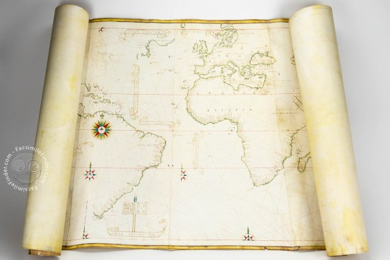 Castiglioni World Map, C.G. A 12 - Biblioteca Estense Universitaria (Modena, Italy) − Photo 1