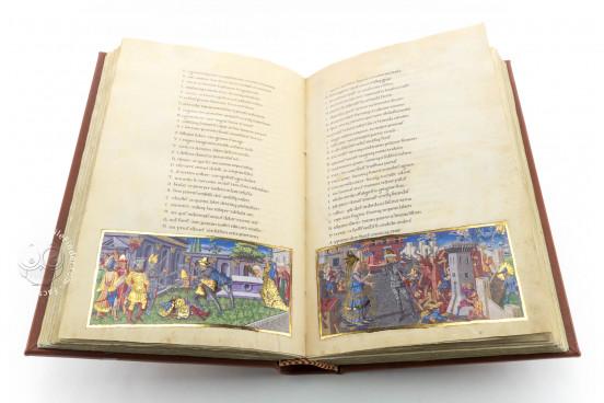 Vergilius Publius Maro: Bucolicon, Georgicon, Aeneis, ms. Ricc. 492 - Biblioteca Riccardiana (Florence, Italy) − photo 1