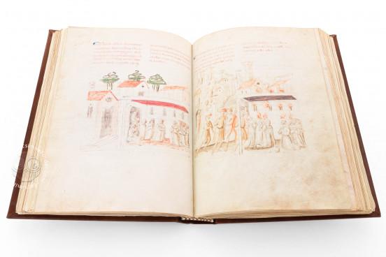 Life and Writings of Saint Francis of Assisi, Florence, Biblioteca Medicea Laurenziana, Gaddi 112 − Photo 1