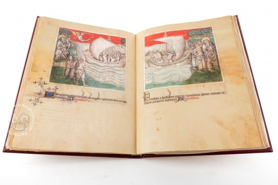 Life and Writings of Saint Anthony the Abbot, Florence, Biblioteca Medicea Laurenziana, Ms. Med. Pal. 143 − Photo 1