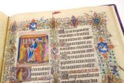 Grandes Heures du duc de Berry, Paris, Bibliothèque Nationale de France, Ms. Lat. 919 Paris, Musée du Louvre, RF 2835 − Photo 13
