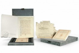 Last days of Christopher Columbus and his Will Facsimile Edition