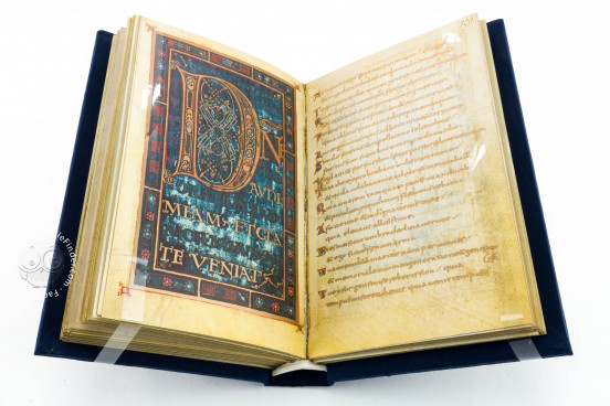 Golden Psalter of Charlemagne (Dagulf Psalter), Codex Vindobonensis 1861 - Österreichische Nationalbibliothek (Vienna, Austria) − photo 1