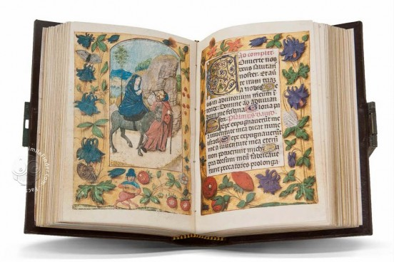 Liber Horarum of Gerard David, ms. Vitrinas 12 - Real Biblioteca del Monasterio (San Lorenzo de El Escorial, Spain) − photo 1