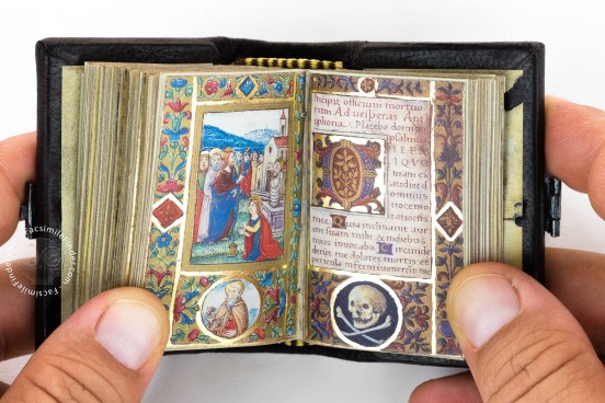 Book of Hours of Lorenzo de' Medici the Younger, Madrid, Museo de la Fundación Lázaro Galdiano, Ms 13312 − Photo 1