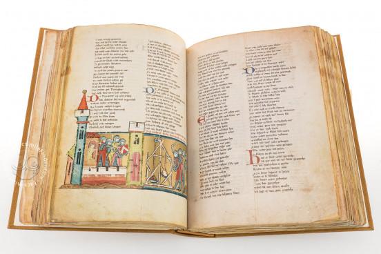 The Willehalm, Vienna, Österreichische Nationalbibliothek, Codex Vindobonensis 2670 − Photo 1