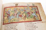 The Willehalm, Vienna, Österreichische Nationalbibliothek, Codex Vindobonensis 2670 − Photo 10