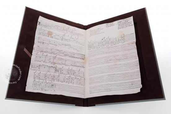 Seven musical scores belonging to Isabelle de Valois , Simancas, Archivo General de Simancas, Leg. 394, fol. 130 − Photo 1