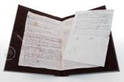 Seven musical scores belonging to Isabelle de Valois , Simancas, Archivo General de Simancas, Leg. 394, fol. 130 − Photo 3