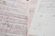 Seven musical scores belonging to Isabelle de Valois , Simancas, Archivo General de Simancas, Leg. 394, fol. 130 − Photo 4