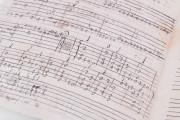 Seven musical scores belonging to Isabelle de Valois , Simancas, Archivo General de Simancas, Leg. 394, fol. 130 − Photo 6