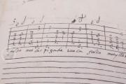 Seven musical scores belonging to Isabelle de Valois , Simancas, Archivo General de Simancas, Leg. 394, fol. 130 − Photo 8