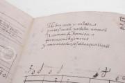Seven musical scores belonging to Isabelle de Valois , Simancas, Archivo General de Simancas, Leg. 394, fol. 130 − Photo 9