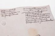 Seven musical scores belonging to Isabelle de Valois , Simancas, Archivo General de Simancas, Leg. 394, fol. 130 − Photo 10