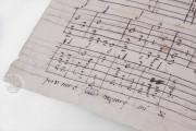 Seven musical scores belonging to Isabelle de Valois , Simancas, Archivo General de Simancas, Leg. 394, fol. 130 − Photo 11
