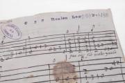 Seven musical scores belonging to Isabelle de Valois , Simancas, Archivo General de Simancas, Leg. 394, fol. 130 − Photo 12