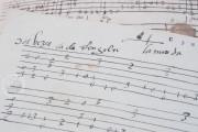 Seven musical scores belonging to Isabelle de Valois , Simancas, Archivo General de Simancas, Leg. 394, fol. 130 − Photo 15