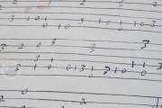 Seven musical scores belonging to Isabelle de Valois , Simancas, Archivo General de Simancas, Leg. 394, fol. 130 − Photo 16