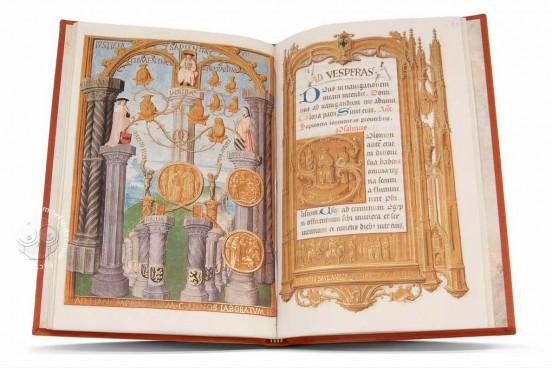 Book of Hours for the voyage of Charles V to his Coronation as H, Vitrina 13 - Real Biblioteca del Monasterio (San Lorenzo de El Escorial, Spain) − photo 1