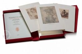 Leonardo da Vinci - The hundred most beautiful drawings from collections all over the world (Collection) Facsimile Edition