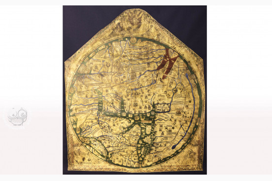 Hereford World Map: Mappa Mundi, Hereford, Hereford Cathedral − Photo 1