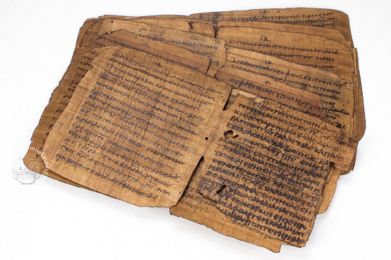 Bodmer VIII Papyrus - Epistles of St. Peter, P72 - Biblioteca Apostolica Vaticana (State of the Vatican City) − photo 1