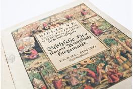 Biblia Veteris Testamenti Facsimile Edition