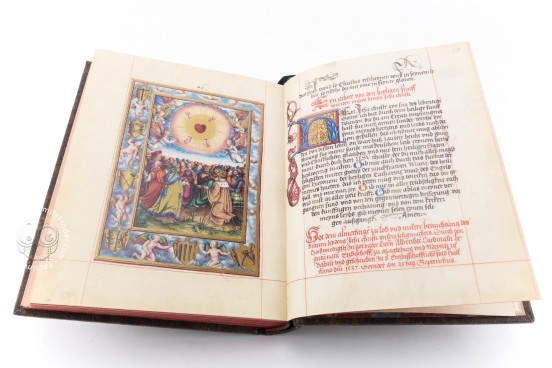Prayer Book for Cardinal Albrecht von Brandenburg, Codex 1847 - Österreichische Nationalbibliothek (Vienna, Austria) − photo 1