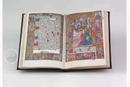Incunabular Book of Hours in Latin and French Illuminated for the Condotiere Ferrante d