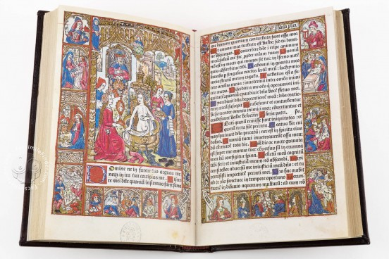 Incunabular Book of Hours in Latin and French Illuminated for th, Madrid, Biblioteca Nacional de España, I 2719 − Photo 1