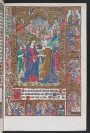 Incunabular Book of Hours in Latin and French Illuminated for the Condotiere Ferrante d'Este illuminated manuscript facsimile − Photo 3