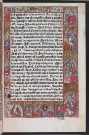 Incunabular Book of Hours in Latin and French Illuminated for the Condotiere Ferrante d'Este illuminated manuscript facsimile − Photo 4