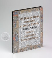 Libro de HIncunabular Book of Hours in Latin and French Illuminated for the Condotiere Ferrante d'Este illuminated manuscript facsimile − Photo 7