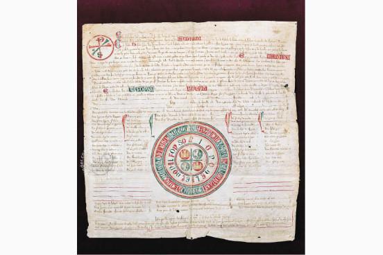 Carta Puebla of Ciudad Real Archivo Histórico Municipal (Ciudad Real, Spain)