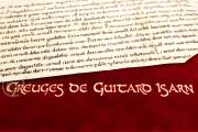 Grievances of Guitard Isarn, Barcelona, Biblioteca Nacional de Catalunya, Pergami 1910 (4-III-4) − Photo 4