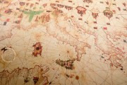 Sea Map of Iehuda Ben Zara, Vatican City, Biblioteca Apostolica Vaticana, Borg. VII − Photo 5