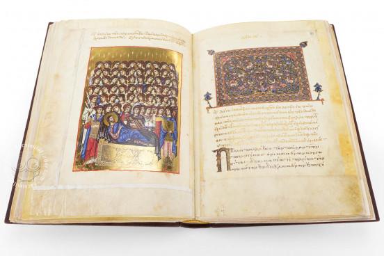 Marian Homilies, Vatican City, Biblioteca Apostolica Vaticana, Vat. gr. 1162 − Photo 1