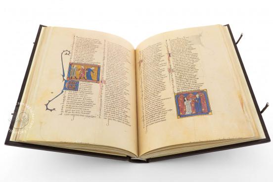 Romance of the Rose of Berthaud d'Achy, Vatican City, Biblioteca Apostolica Vaticana, Urb. lat. 376 − Photo 1