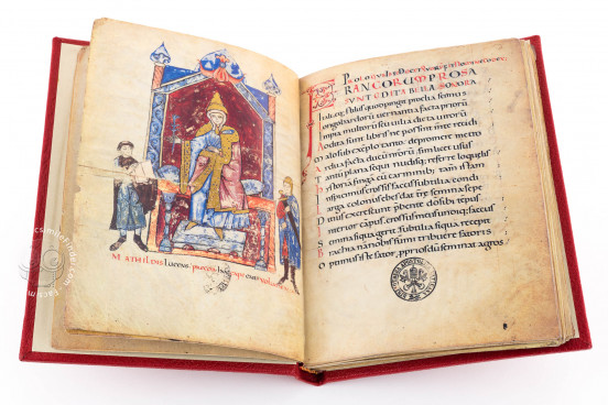 Vita Mathildis, Vatican City, Biblioteca Apostolica Vaticana, Vat. lat. 4922 − Photo 1
