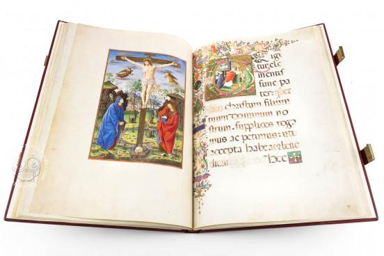 Christmas Missal of Alexander VI, Vatican City, Biblioteca Apostolica Vaticana, Borg. lat. 425 − Photo 1