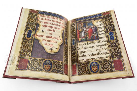 The Crowning Ceremonial of Emperor Charles V, Vatican City, Biblioteca Apostolica Vaticana, Borg. lat. 420 − Photo 1