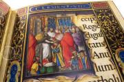 The Crowning Ceremonial of Emperor Charles V, Vatican City, Biblioteca Apostolica Vaticana, Borg. lat. 420 − Photo 9