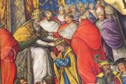 The Crowning Ceremonial of Emperor Charles V, Vatican City, Biblioteca Apostolica Vaticana, Borg. lat. 420 − Photo 14