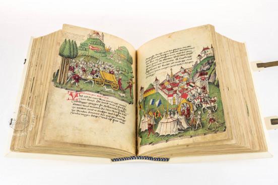 Tschachtlan's Illustrated Chronicle, Zürich, Zentralbibliothek Zürich, Ms. A 120 − Photo 1