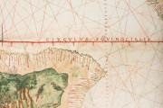 Geocarta Nautica Universale (1523) by Amerigo Vespucci, Turin, Biblioteca Reale di Torino − Photo 3